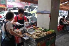 Eetkraampje in Taipei