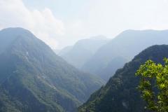 Uitzicht in Taroko Kloof