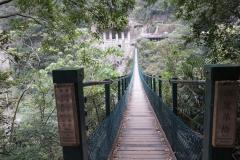 Brug langs Zhuilu Old Trail
