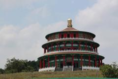Tempel vlakbij Foguanshan Tempel