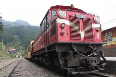 Oude trein in Fenchihu