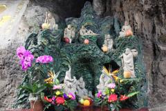 Grot-tempel in de buurt van Yehliu Geo Park