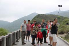 Familiefoto bij Xiaoyoukeng