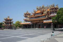 Tempel in Taijiang National Park, Tainan