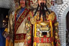 Beeld in tempel in Yilan