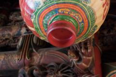 Lamp in tempel in Yilan