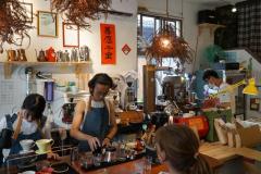 Lekkere koffie in Yilan
